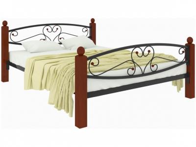 Кровать Каролина Lux plus чёрная