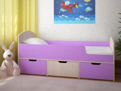 Кровать Малыш Мини дуб-ирис