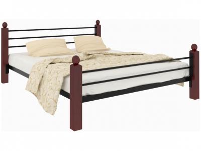 Кровать Милана Lux Plus чёрная