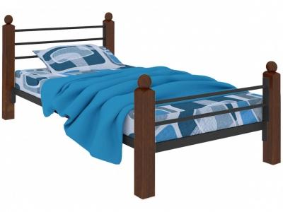 Кровать Милана мини Lux Plus чёрная