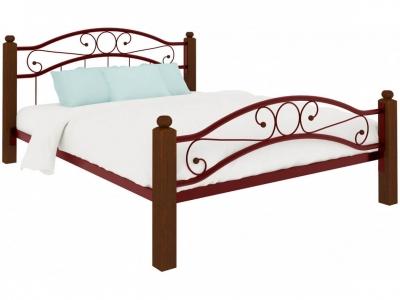 Кровать Надежда Lux plus красная