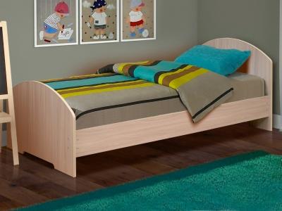 Кровать одинарная на уголках №2 Матрица