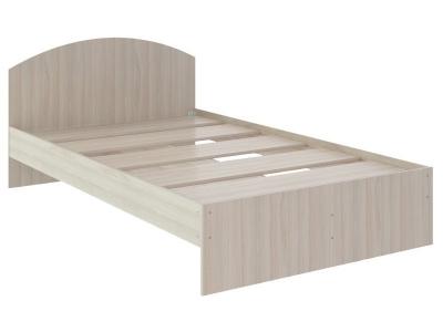 Кровать Веста 1.2 без ящика 2040x1220x700 дуб млечный