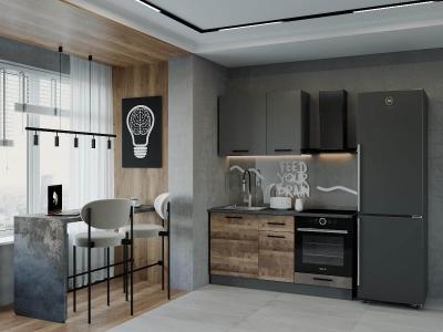 Кухонный гарнитур Гранж-1600