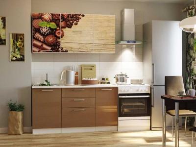 Кухонный гарнитур Риал 1500 конфеты-капучино