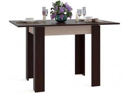Кухонный стол Сокол СО-1 Венге подстолье Беленый дуб