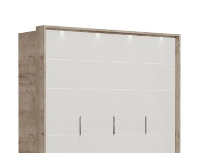 Подсветка портала 4-х дверного шкафа Джулия
