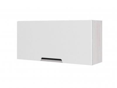 Полка с дверкой ПЛ 052 Миа белый металлик