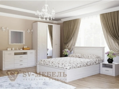 Спальня Гамма 20 Сандал светлый