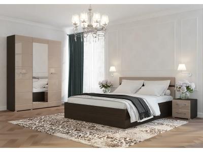Спальня Ненси венге-капучино
