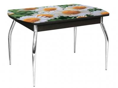 Стол обеденный Грация-2 1200 не раздвижной Ромашки