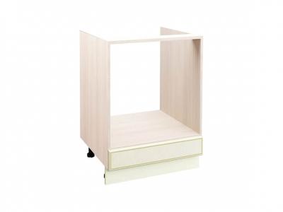 Стол под встраиваемую технику с выдвижным ящиком 71.57 Оливия Крем 600х530х820