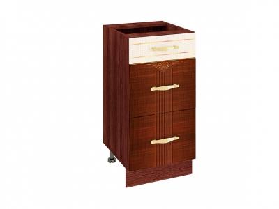 Стол с 3 ящиками - метабоксы 11.59 Каролина 400х530х820