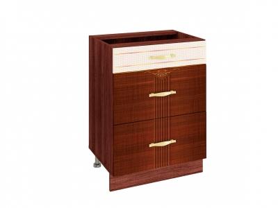Стол с 3 ящиками - метабоксы 11.66 Каролина 600х530х820