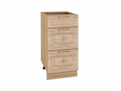 Стол с 3 ящиками - метабоксы 73.59 Шарлотта 400х530х820