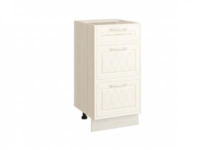 Стол с 3 ящиками плавное закрывание 19.90 Тиффани 400х530х820