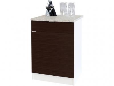 Стол с ящиками Сокол ТК-06.1 Белый/Венге
