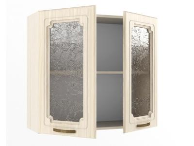 Верхний шкаф В 800 стекло 720х800х300 Грецкий орех